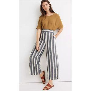 Madewell | Side-Button Huston Pull-On Crop Pants